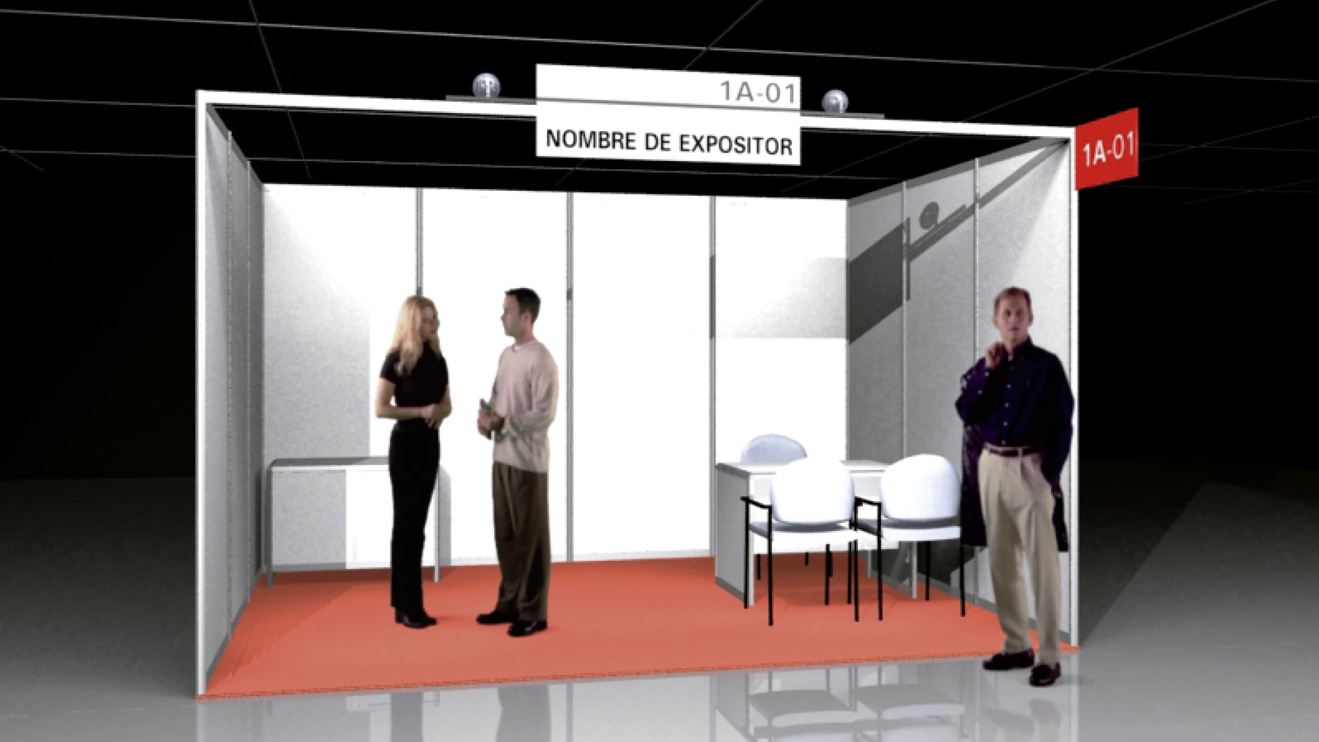 Equipped Booth